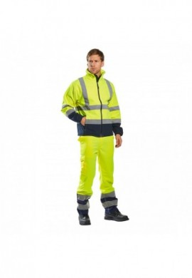 S425 Softshell Contrast HiVis (3L)