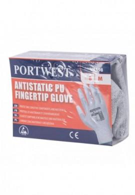 VA198 Manusa antistatica vending aplicatii PU pe varful degetelor